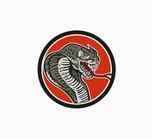 Cobra Viper Snake Circle Retro Unisex T-Shirt