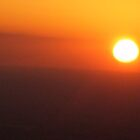 sun from the plane by margaret etzler