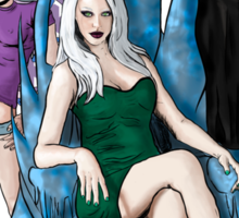 The Winter Court of the Sidhe Sticker