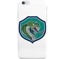 Cobra Viper Snake Shield Retro iPhone Case/Skin