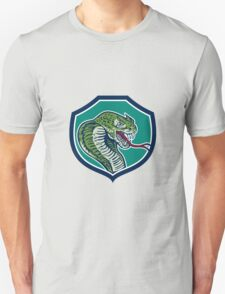 Cobra Viper Snake Shield Retro T-Shirt