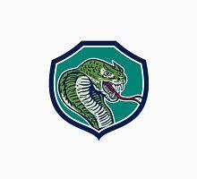 Cobra Viper Snake Shield Retro Unisex T-Shirt