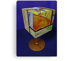After Klee cubed by Marilyn Brown Facilitated Canvas Print