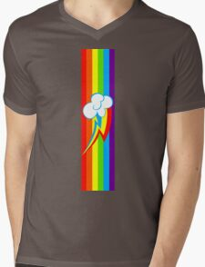 Dashie Mark Mens V-Neck T-Shirt