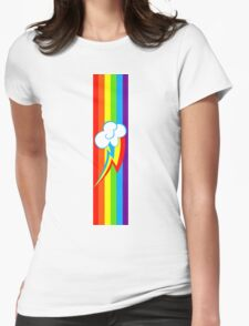 Dashie Mark Womens Fitted T-Shirt