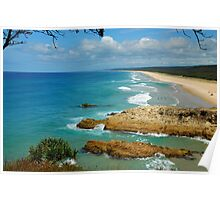 Main Beach - Point Lookout Poster
