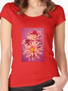 Bloomin' Marvellous! Women's Fitted Scoop T-Shirt