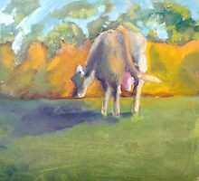 The French Watercolors:  Vache laitiète by Phyllis Dixon