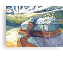The French Watercolors: maison de jardin, St. Loup Metal Print