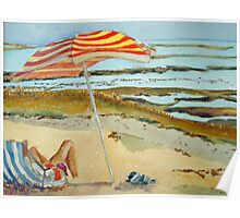 The French Watercolors:  Il d'Oleron Poster