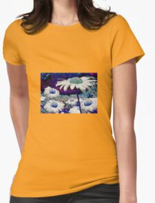 Daisy Blue Womens Fitted T-Shirt