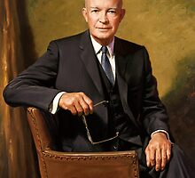 President Dwight Eisenhower Painting by warishellstore