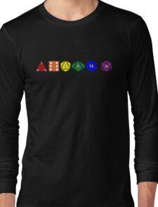 Gay Pride (Polyhedral Edition) Long Sleeve T-Shirt