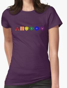 Gay Pride (Polyhedral Edition) Womens Fitted T-Shirt
