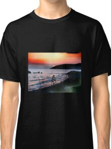 Sunset over Binigaus Classic T-Shirt
