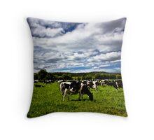 Moo Cows Throw Pillow