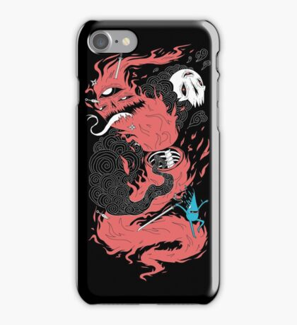 Death Of The Fire Demon iPhone Case/Skin