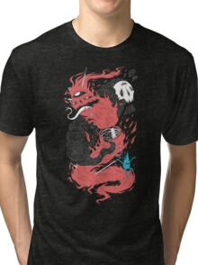 Death Of The Fire Demon Tri-blend T-Shirt