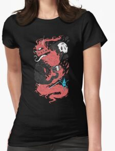 Death Of The Fire Demon Womens Fitted T-Shirt