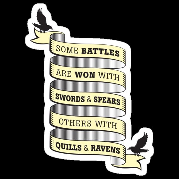 Quills & Ravens by JenSnow