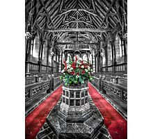 Norfolk Is. St Barnabas Chapel Photographic Print