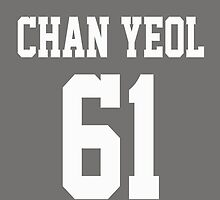 Chan Yeol [white Font Version] by Shayera