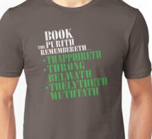 The Book Purist Remembers 4 Unisex T-Shirt