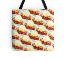 Cherry Pie Pattern Tote Bag