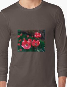 Red Dogwood Long Sleeve T-Shirt