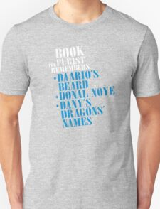 The Book Purist Remembers 3 T-Shirt