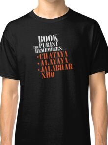 The Book Purist Remembers 2 Classic T-Shirt
