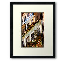 another Portuguese facade Framed Print