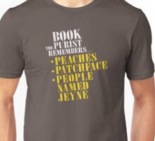 The Book Purist Remembers 1 Unisex T-Shirt