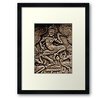 Devine Dancer Framed Print