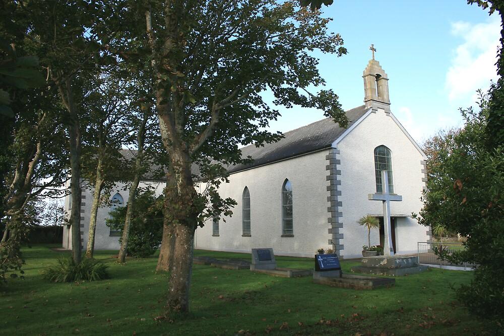 Carrigaholt church by John Quinn