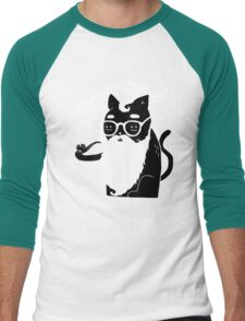 Whiskers And Pipe Men's Baseball ¾ T-Shirt