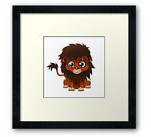 Chibi Scar | Lion King Framed Print