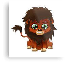 Chibi Scar   Lion King Metal Print