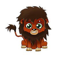 Chibi Scar | Lion King Photographic Print