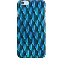 Scales of the Blue Dragon iPhone Case/Skin