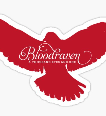 Bloodraven (Red) Sticker