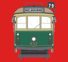 Melbourne Heritage Tram Kids Clothes