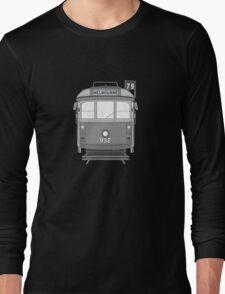 Melbourne Heritage Tram (B/W) Long Sleeve T-Shirt