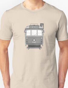 Melbourne Heritage Tram (B/W) Unisex T-Shirt
