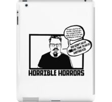Horrible Horrors - Friday the 13th iPad Case/Skin