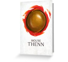 House Thenn Greeting Card