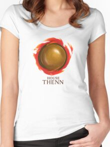 House Thenn Women's Fitted Scoop T-Shirt