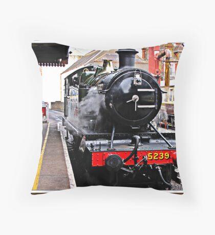 """ Dartmouth Steam Railway"" Throw Pillow"