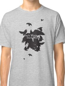 Dark Wings Dark Words Classic T-Shirt