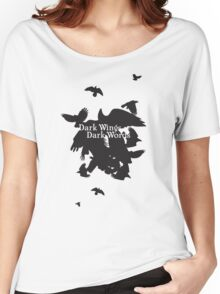 Dark Wings Dark Words Women's Relaxed Fit T-Shirt